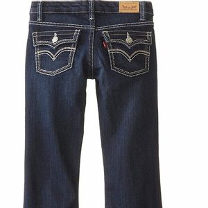 ⭐️2 for $25 🌺NWT Levi's boot cut dark wash jeans